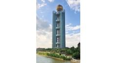 Longxi International Hôtel, technologie kaxite, profil de polyamide pour façade, coupure thermique polyamide