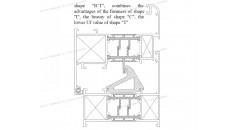 Uf 2.0 K / m2K, coupures thermiques, Solutions pour châssis de fenêtre en aluminium