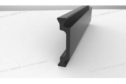 bar de barrière thermique, Forme C 25mm barre de barrière thermique, profil en aluminium de barrière thermique, fenêtre en aluminium de barrière thermique
