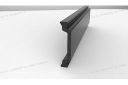 un matériau formant une barrière thermique, Forme C de 27 mm de matériau de barrière thermique, profilé en aluminium formant barrière thermique, fenêtre en aluminium formant barrière thermique
