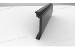 bande de barrière thermique, Forme C 28mm chaleur de la bande de barrière, profil barrière d'aluminium de chaleur, fenêtre en aluminium de barrière thermique