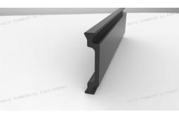 Profil de polyamide formant une barrière thermique, Forme C de 30 mm barrière thermique profil de polyamide barrière thermique profilé en aluminium, fenêtre en aluminium formant barrière thermique