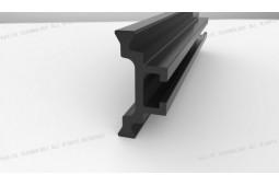 barre de chaleur pause, polyamide barre de rupture thermique, profils de fenêtres en aluminium, barre de saut de la chaleur pour les profils de fenêtres en aluminium