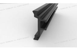 barrière thermique polyamide contrefiche, extrusion polyamide barrière thermique contrefiche, la chaleur polyamide barrière jambe pour le système de fenêtre isolée