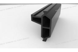 fibre de verre renforcée de polyamide, produit de la chaleur cassé, cadre de fenêtre à guillotine en aluminium