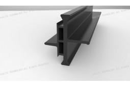 bar pause polyamide thermique, PA66 GF25 bar pause polyamide thermique, barre de polyamide pour murs-rideaux