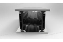 polyamide 6 . 6 25% fibre de verre, un profil de barrière thermique