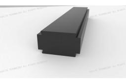 formes spéciales sur mesure à barres thermique cassé, bar cassé thermique, bar cassé thermique personnalisé, barre cassée thermique pour murs-rideaux