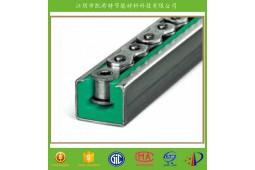 profil de nylon guide de chaîne, guide de chaîne pour la ligne de production automatique, TYPE guide de chaîne CKG