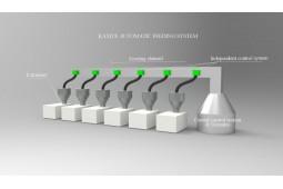 Système d'alimentation automatique, système d'alimentation automatique pour Granules, système d'alimentation automatique pour extrudeuses, alimentation automatique, système d'alimentation