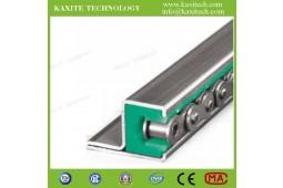 guide de chaîne en plastique, des guides de chaîne pour les chaînes à rouleaux, des guides à rouleaux chian, nylon profil guide de chaîne, PA66 rouleau guide de piste de la chaîne<br>