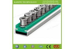 Guide de chaîne en plastique TYPE CU, guide chaîne en plastique