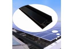 Rail de montage de panneau solaire, rail de montage de panneau, supports de montage de panneau, rail en aluminium