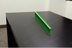 polyamide vert, coupure thermique verte, peinture polyamide couleur, bleu PA66