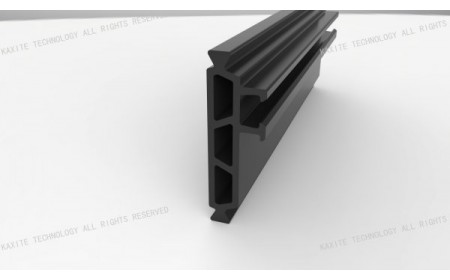 35,3 mm polyamide largeur des bandes d'isolation thermique