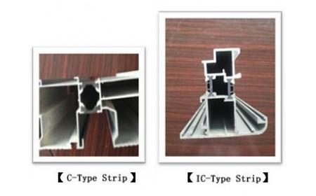 l'essai de comparaison entre la bande d'isolation thermique de type C et la bande d'isolation thermique