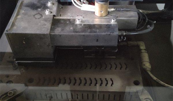 coupe meurt pour rupture thermique, machine à extruder pour rupture thermique, coupe meurt pour le polyamide,